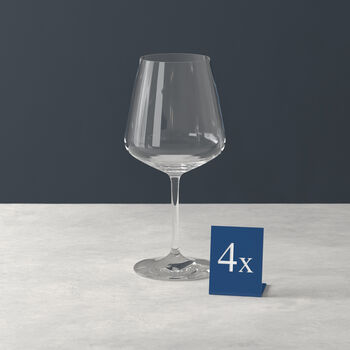 Ovid bicchiere da vino rosso set da 4
