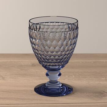 Boston Coloured Vaso de agua Blue