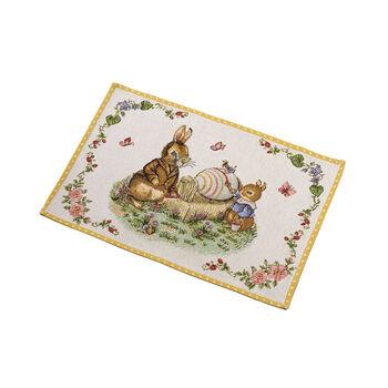 Spring Fantasy tovaglietta gobelin Nonno e Max, 32 x 48 cm, multicolore
