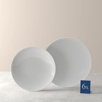 Voice Basic set da tavola, bianco, 12 pezzi