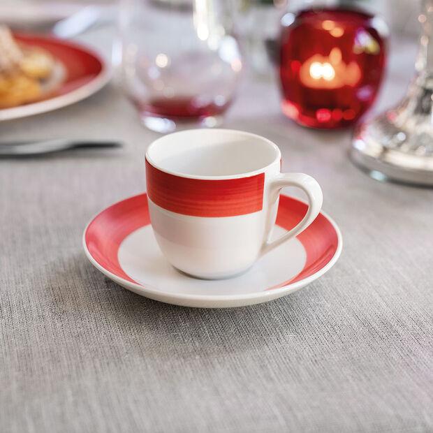 Colourful Life Deep Red piattino per tazza da moka/espresso, , large