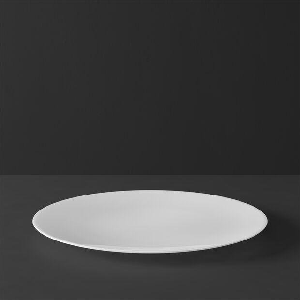 MetroChic blanc Piatto piano 27x27x2cm, , large