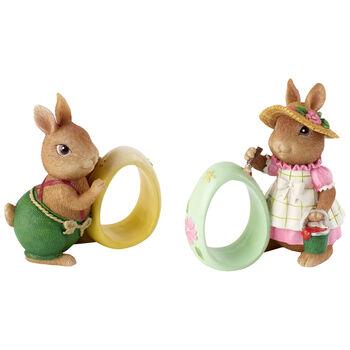 Spring Fantasy Accessories Portatovagliolo Anna e Paul set da 2 8,3x5x8,9cm