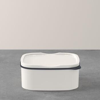 ToGo&ToStay porta pranzo, 13x10x6cm, quadrato, bianco