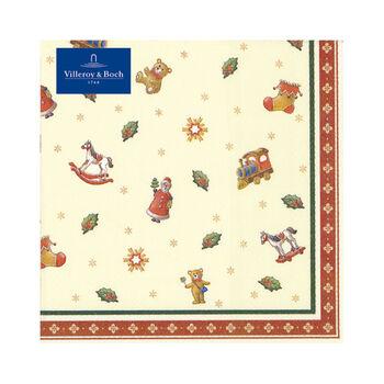 Winter Specials Toys Tovagliolo grande giocattolo 20 pz 33x33cm