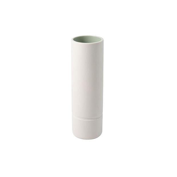 it's my home vaso grande, 6x20 cm, verde/bianco, , large