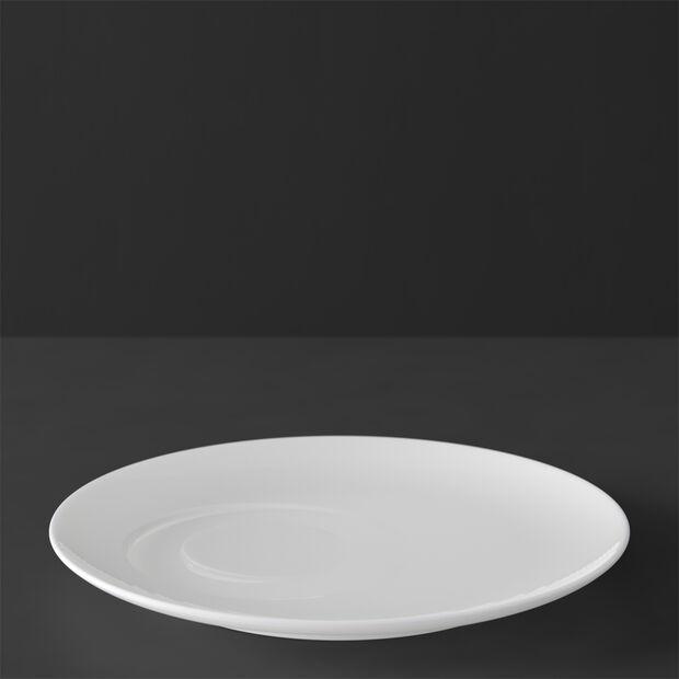 MetroChic blanc Piattino tazza caffè 18,5x18,5x2cm, , large