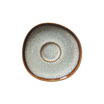 Lave beige piattino per tazza da caffè, 15,5cm