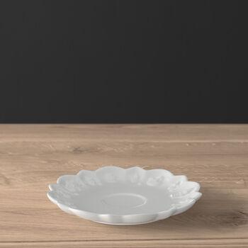 Toy's Delight Royal Classic platillo para taza de moca y expreso, blanco, 14 cm