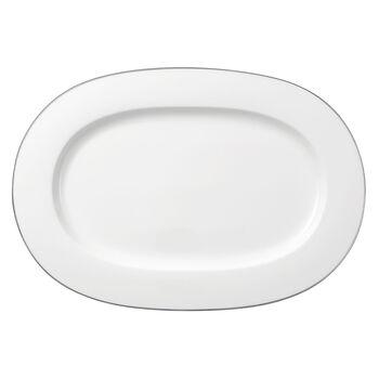 Anmut Platinum N. 1 piatto ovale 41 cm