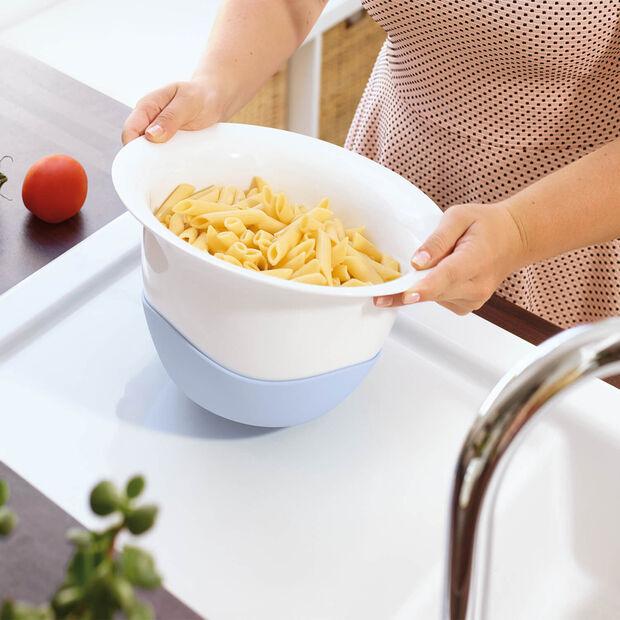 Clever Cooking Colapasta/ciotola per pasta azzurro, , large