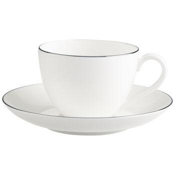 Anmut Platinum No.1 Tazza caffè con piattino 2pz