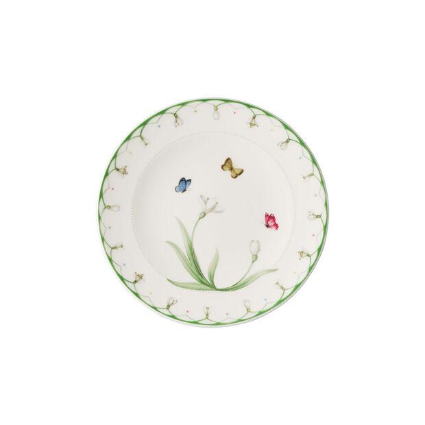 Colourful Spring plato para pan, blanco/verde, , large