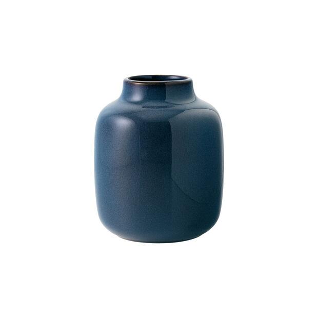 Lave Home vaso Shoulder, 12,5x12,5x15,5cm, blu tinta unita, , large
