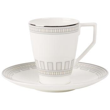La Classica Contura Tazza caffè con piattino 2pz