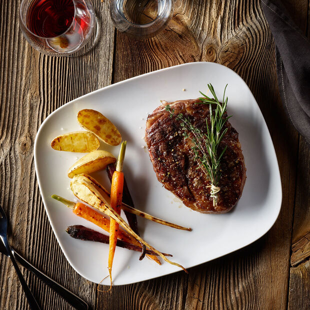 vivo   Villeroy & Boch Group New Fresh Collection Juego de 2 plato bistec 30x25cm, , large