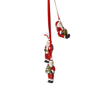 My Christmas Tree trío de ornamentos Santa