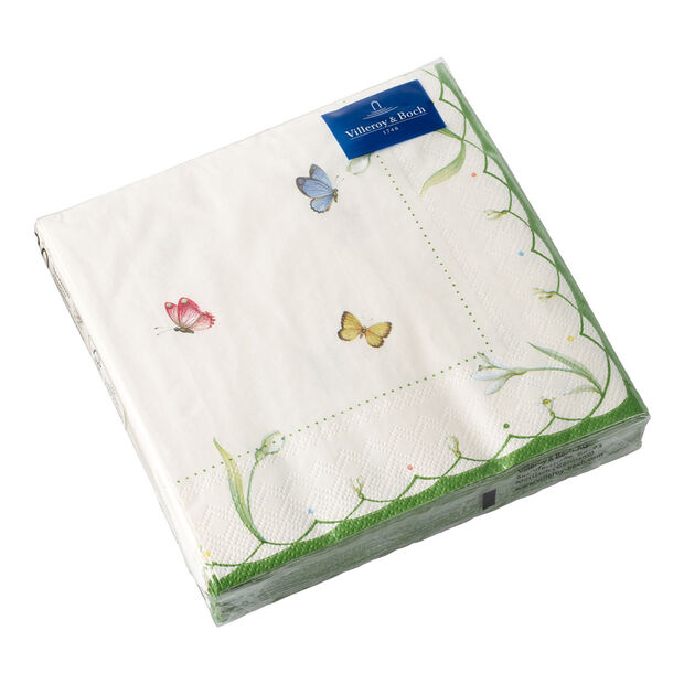Tovaglioli di carta Colourful Spring Lunch, 33 x 33 cm, 20 pezzi, , large