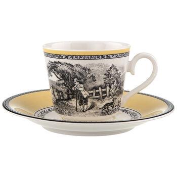Audun Ferme Taza café/té con plato