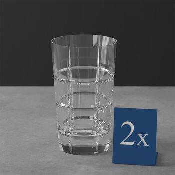 Ardmore Club bicchiere per long drink set da 2 pezzi