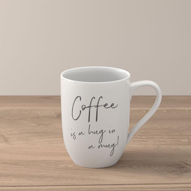 "Statement tazza ""Coffee is a hug in a mug"", , large"