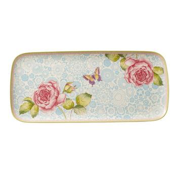 Rose Cottage piatto da torta rettangolare