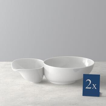 Soup Passion Zuppiera grande Set 2 pezzi 27,5x17,3x6,8cm