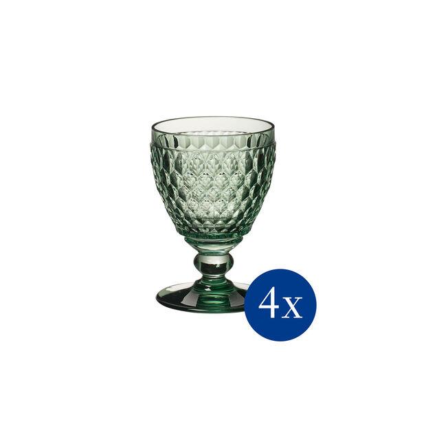 Boston Coloured bicchiere da vino bianco, 4 pezzi, ´verde, , large