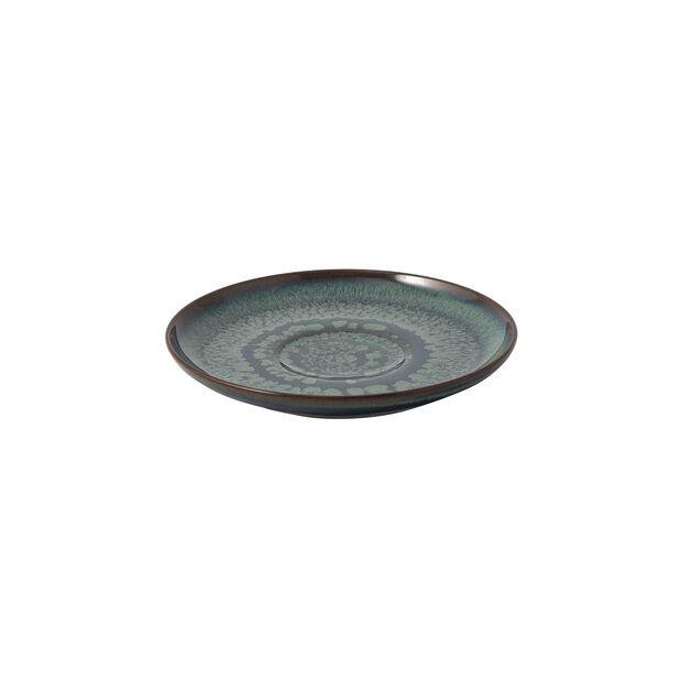 Crafted Breeze piattino per tazza da caffè, grigio-blu, 15 cm, , large