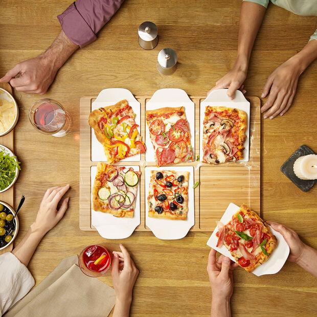 Pizza Passion vassoio party rettangolare, , large