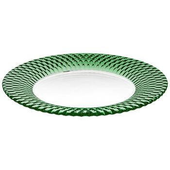Boston Coloured plato de presentación, verde, 32 cm