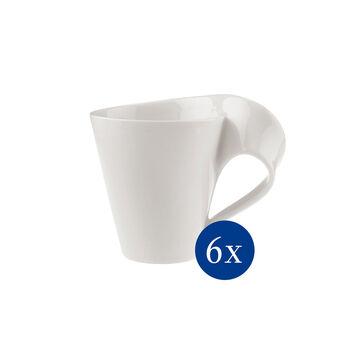 NewWave Caffè tazza grande da caffè, 300 ml, 6 pezzi