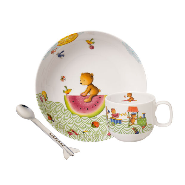 Hungry as a Bear Set di stoviglie per bambini, 3pz., , large