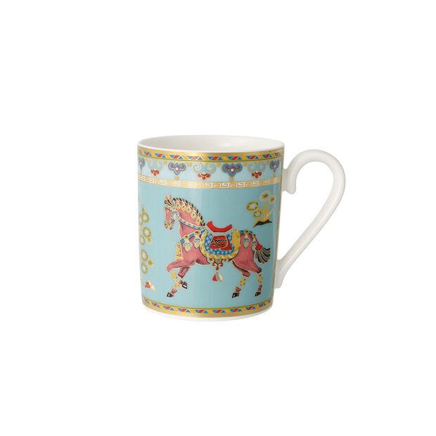 Samarkand Aquamarin tazza grande da caffè con manico, , large