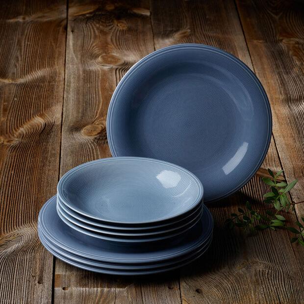 Color Loop Horizon set de mesa, azul celeste, 8 piezas, , large