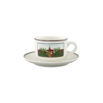 Design Naif Tazza tè con piattino 2pz.