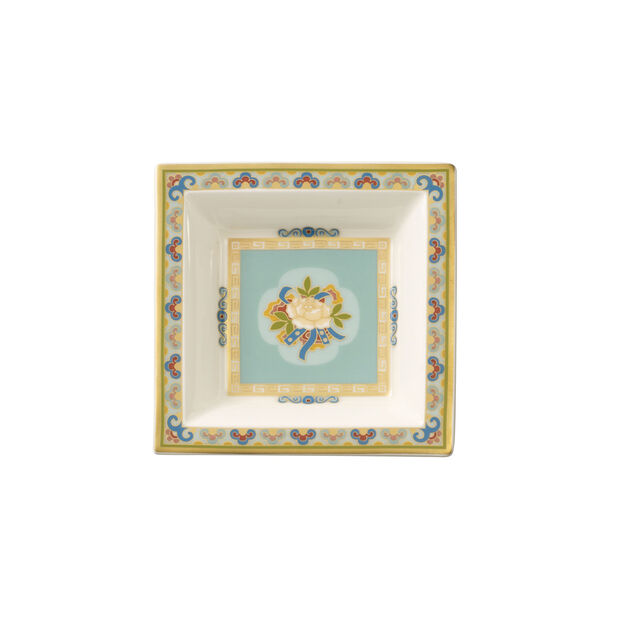 Samarkand Aquamarine coppetta dessert quadrata 10x10 cm, , large