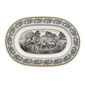 Audun Ferme Piatto ovale (3) 34cm