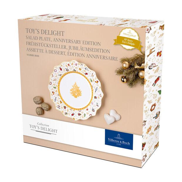 Toy's Delight piatto da colazione, edizione anniversario, multicolore/oro/bianco, , large