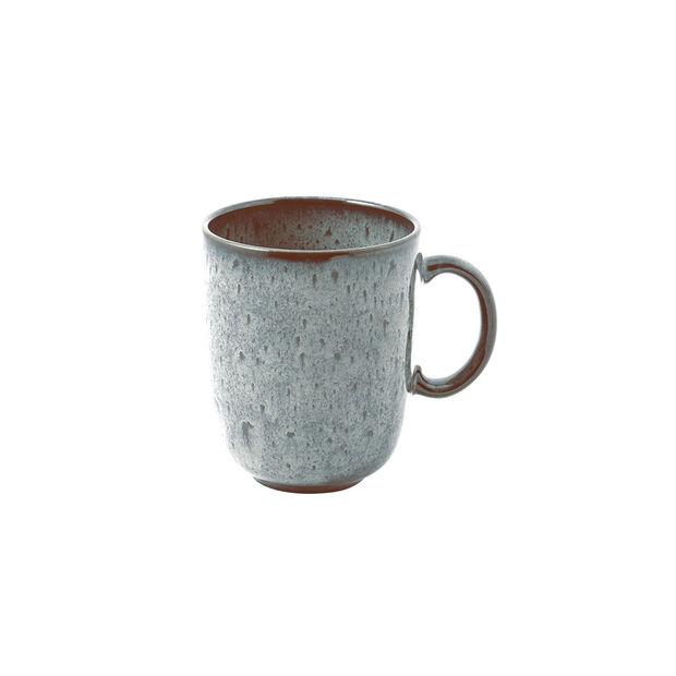 Lave Glacé tazza con manico, turchese, 12,5 x 9 x 10,5 cm, 400 ml, , large