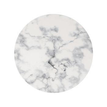 Marmory piatto piano White, 27x27x1,5cm