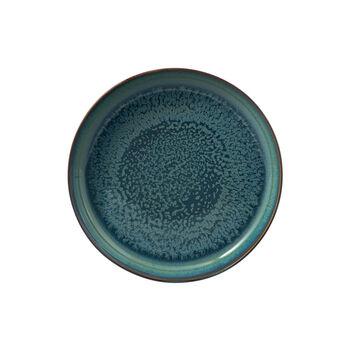 Crafted Breeze piatto fondo, grigio blu, 21,5 cm