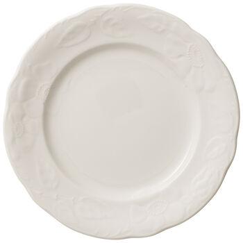 Rose Sauvage blanche piatto da colazione