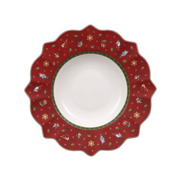 Toy's Delight Piatto fondo rosso 26cm, , large
