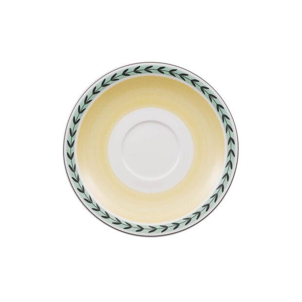 Charm & Breakfast French Garden Plato para taza café con leche XL 20cm, , large