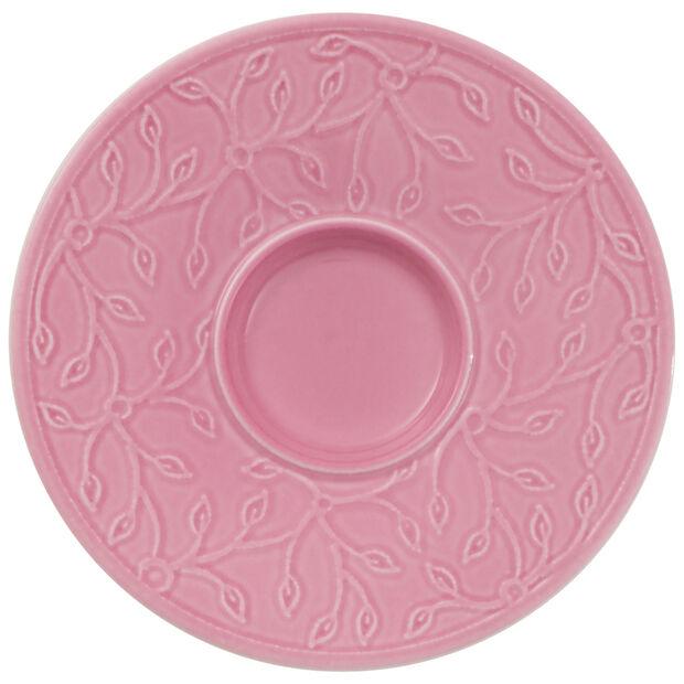 Caffè Club Floral Touch of Rose piattino per tazza da espresso/moka, , large