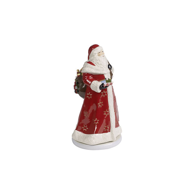 Christmas Toy's Memory Babbo Natale rotante, multicolore, 17,5 x 20 x 34 cm, , large