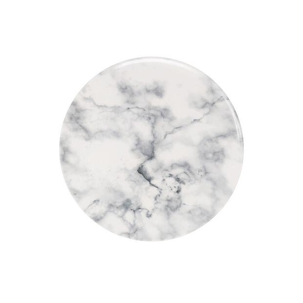 Marmory piatto da colazione White, 21x21x1,5cm, , large