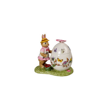 Bunny Tales barattolo uovo di Pasqua Anna, 11 x 6,5 x 10 cm, multicolore