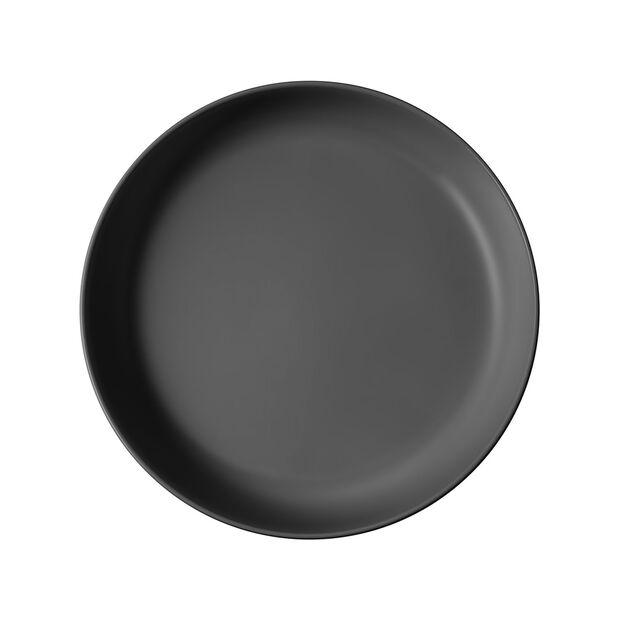 Iconic fuente llana, negro, 24 x 4 cm, 1,1 l, , large